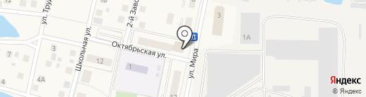 Парикмахерская на карте Снегирей