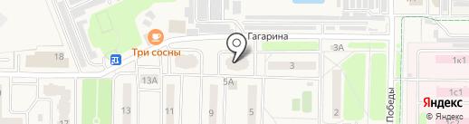 Эффект Информ на карте Краснознаменска