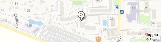 Фрейр на карте Краснознаменска
