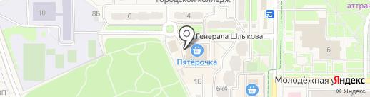 Фис-класс на карте Краснознаменска