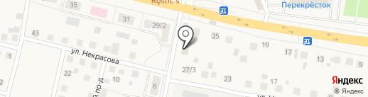Почтовое отделение №143590 на карте Снегирей