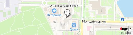 МосЭкоСервис на карте Краснознаменска
