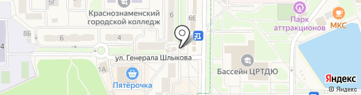 Связной на карте Краснознаменска
