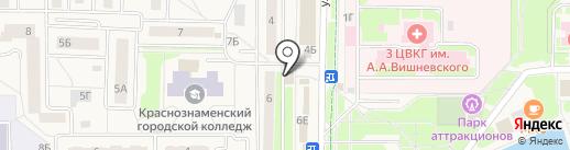 Магазин хозтоваров на карте Краснознаменска