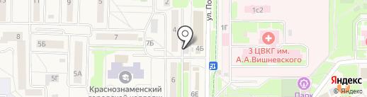 Минимаркет на карте Краснознаменска