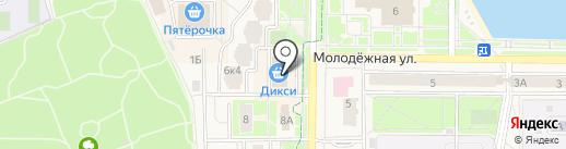 Алекса на карте Краснознаменска