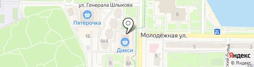 ЮРИЧИ на карте Краснознаменска