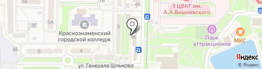 Tourpay на карте Краснознаменска