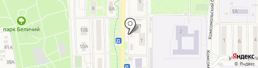 Управление опеки и попечительства на карте Краснознаменска