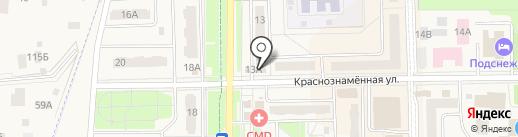 Ломбард Золотой Прайд на карте Краснознаменска