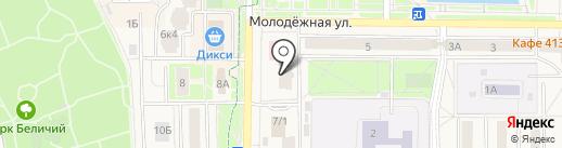 Русские Узоры на карте Краснознаменска