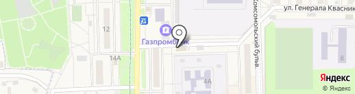 Марлен плюс на карте Краснознаменска