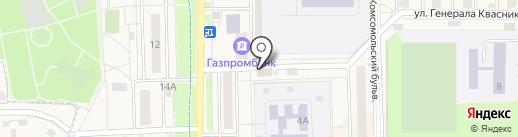 ЗдравСити на карте Краснознаменска