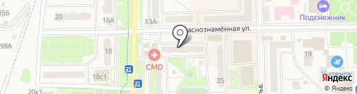 ЛИФТЕК1 на карте Краснознаменска