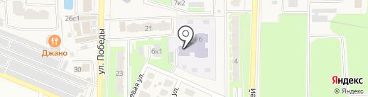 Детский сад №7 на карте Краснознаменска