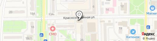 МТС на карте Краснознаменска