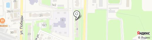 Клиника доктора Петракова на карте Краснознаменска