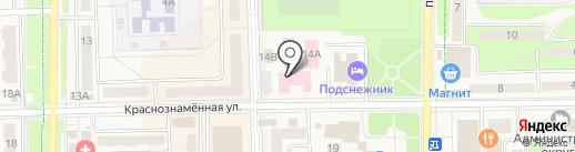 Поликлиника на карте Краснознаменска