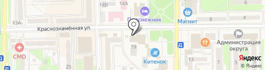 ЦветОК на карте Краснознаменска