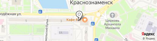 Тим на карте Краснознаменска