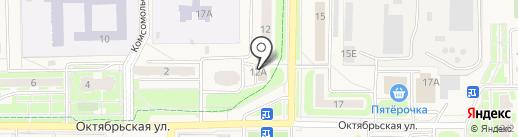 ЛИГА на карте Краснознаменска