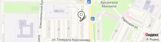 Эстейт на карте Краснознаменска