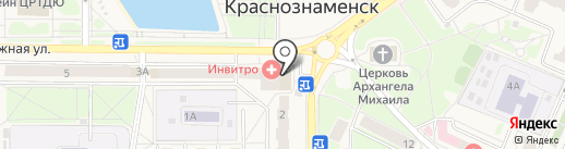 Сеть сервисных центров по ремонту бытовой техники на карте Краснознаменска
