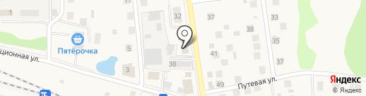 Магазин разливного пива на ул. Ленина на карте Снегирей