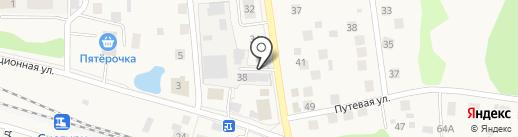 Котопес на карте Снегирей
