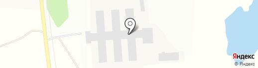 Снегири, ФГУП на карте Рождествена