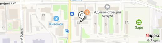 Мосэнергосбыт на карте Краснознаменска