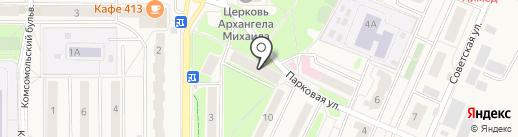 Платежный терминал, Московский кредитный банк, ПАО на карте Краснознаменска