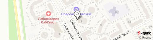 Платежный терминал, Московский кредитный банк, ПАО на карте Рождествена