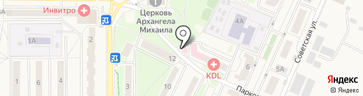 Квант на карте Краснознаменска