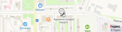 Московский кредитный банк, ПАО на карте Краснознаменска