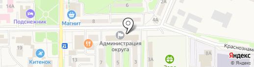 АЛЕШНЯ И ПАРТНЕРЫ на карте Краснознаменска