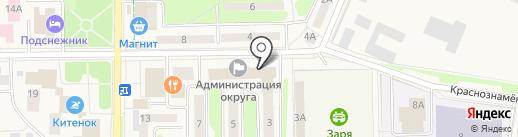 Единая дежурная диспетчерская служба на карте Краснознаменска