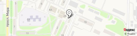 1С-Атоматикс на карте Краснознаменска