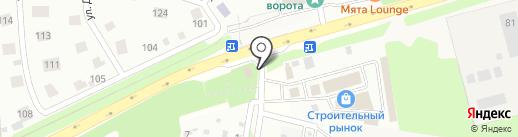Гавриш на карте Павловской Слободы