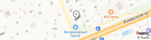 Апрелевский ветеринарный центр на карте Апрелевки