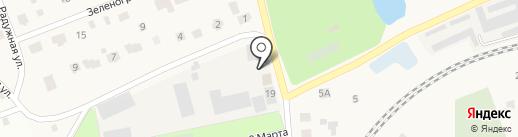 Автомойка на карте Поварово