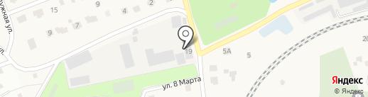 Участковый пункт полиции на карте Поварово