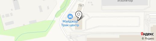 Major Auto на карте Павловской Слободы