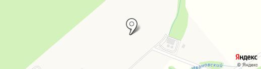 Высокие Жаворонки на карте Малых Вязёмов
