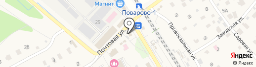 Церковь-часовня Георгия Победоносца на карте Поварово