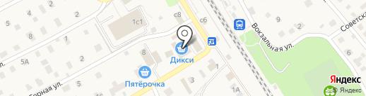 КБ Геобанк на карте Поварово