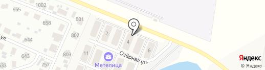 Метелица на карте Павловской Слободы