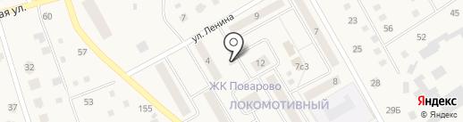 Ваал на карте Поварово