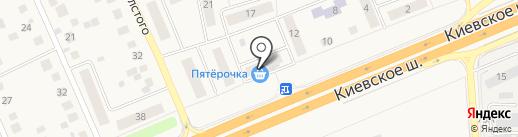 Перекресток Экспресс на карте Апрелевки
