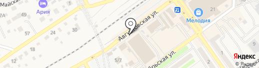 Наро-Фоминский молочный завод на карте Апрелевки